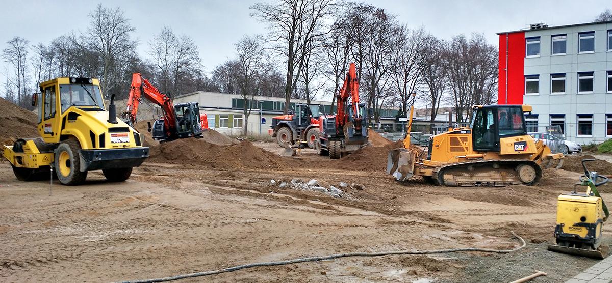 Neubau einer Produktionsstätte, Salzgitter