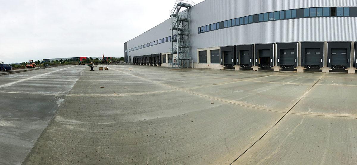 Neubau Logistikhalle, Bohnsdorf