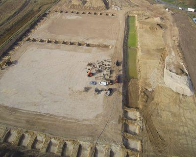 Neubau von 4 Logistikhallen, Wustermark