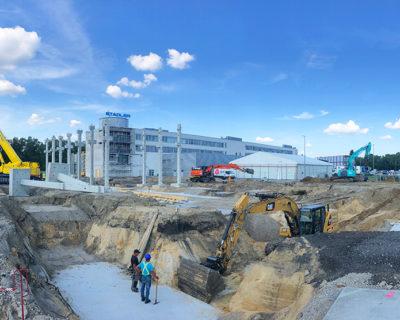 Neubau Produktionsstätte, Berlin Pankow