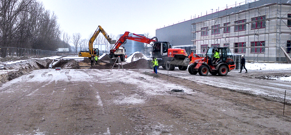 Neubau von 3 Logistikhallen, Großbeeren